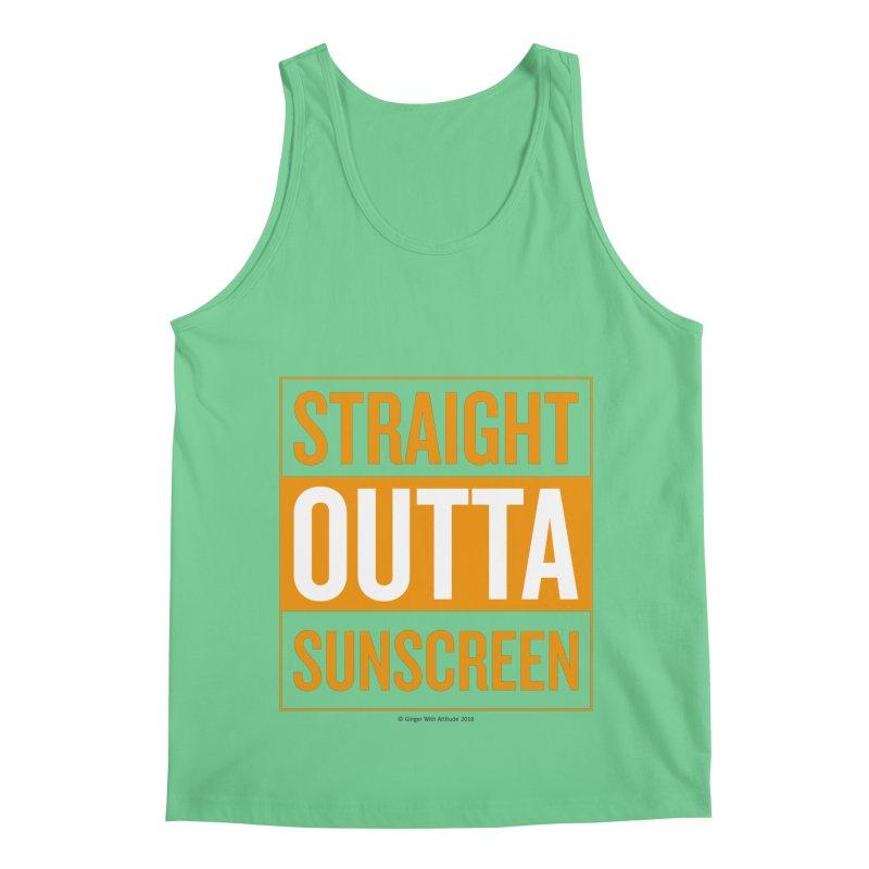 SunScreen Men's Regular Tank by Ginger With Attitude's Artist Shop