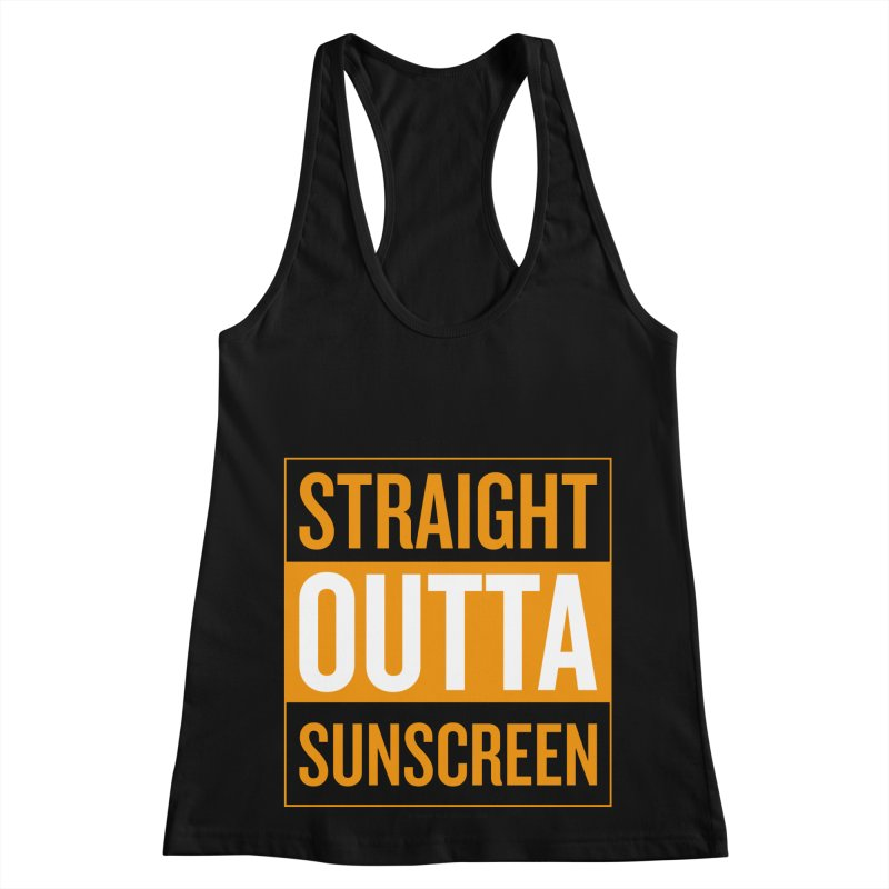 SunScreen Women's Racerback Tank by Ginger With Attitude's Artist Shop
