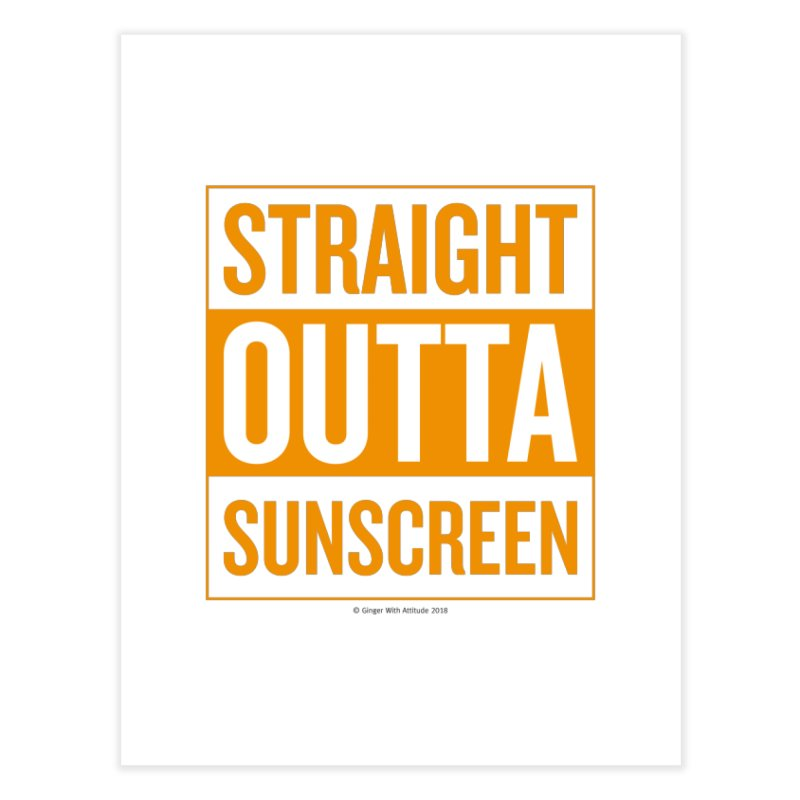 SunScreen Home Fine Art Print by Ginger With Attitude's Artist Shop