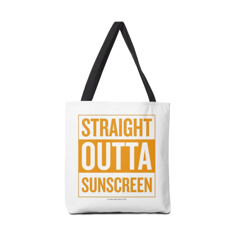 SunScreen Accessories Tote Bag Bag by Ginger With Attitude's Artist Shop