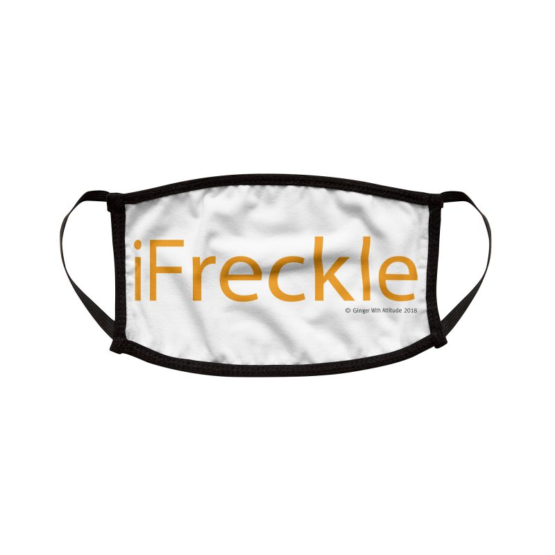 iFreckle Accessories Face Mask by Ginger With Attitude's Artist Shop