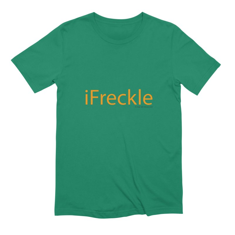 iFreckle Men's Extra Soft T-Shirt by Ginger With Attitude's Artist Shop