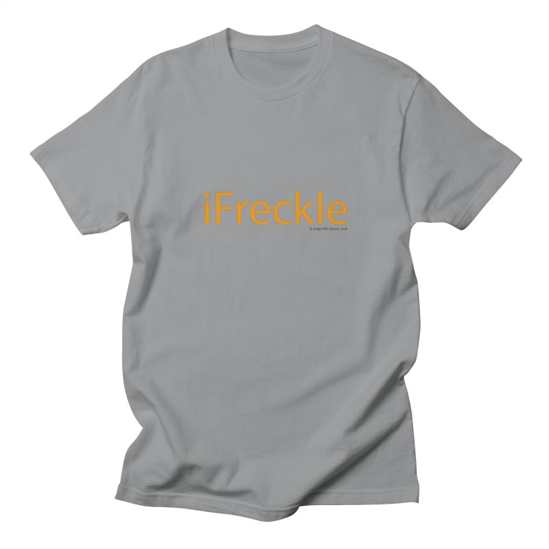 iFreckle Men's Regular T-Shirt by Ginger With Attitude's Artist Shop