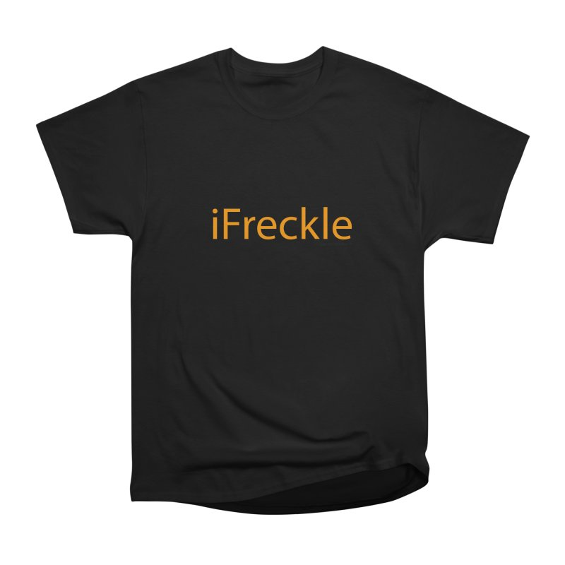 iFreckle Women's Classic Unisex T-Shirt by Ginger With Attitude's Artist Shop