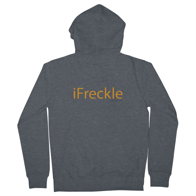 iFreckle Men's French Terry Zip-Up Hoody by Ginger With Attitude's Artist Shop