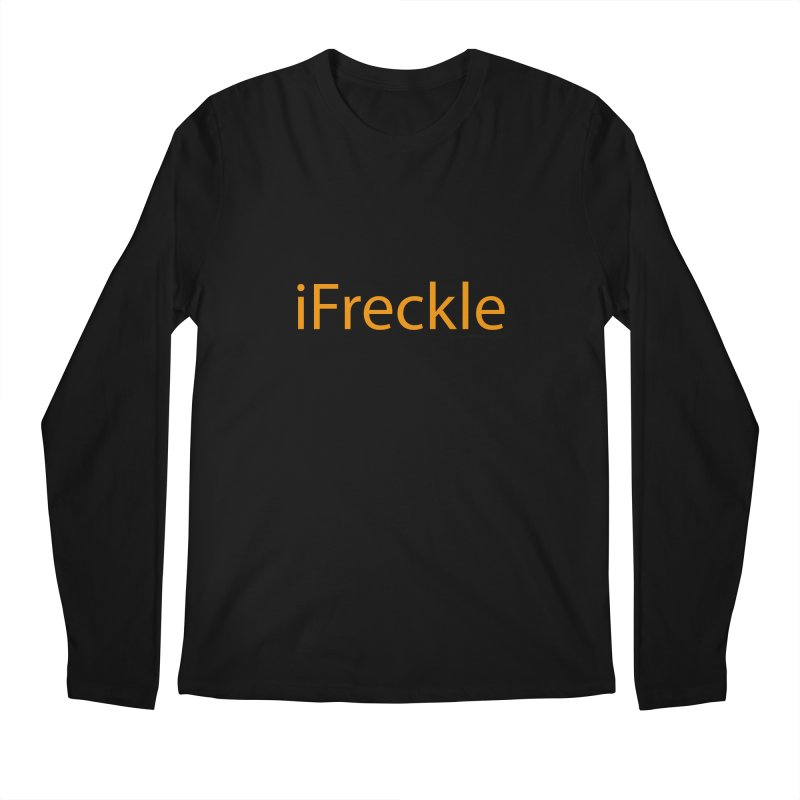 iFreckle Men's Longsleeve T-Shirt by Ginger With Attitude's Artist Shop