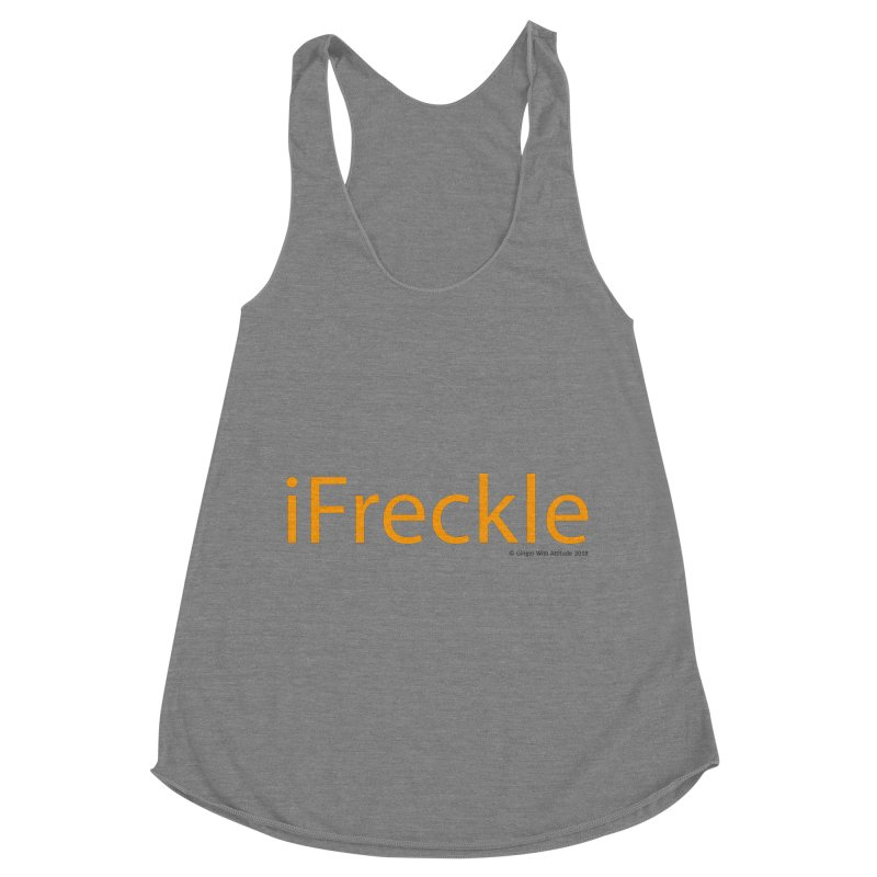 iFreckle Women's Tank by Ginger With Attitude's Artist Shop