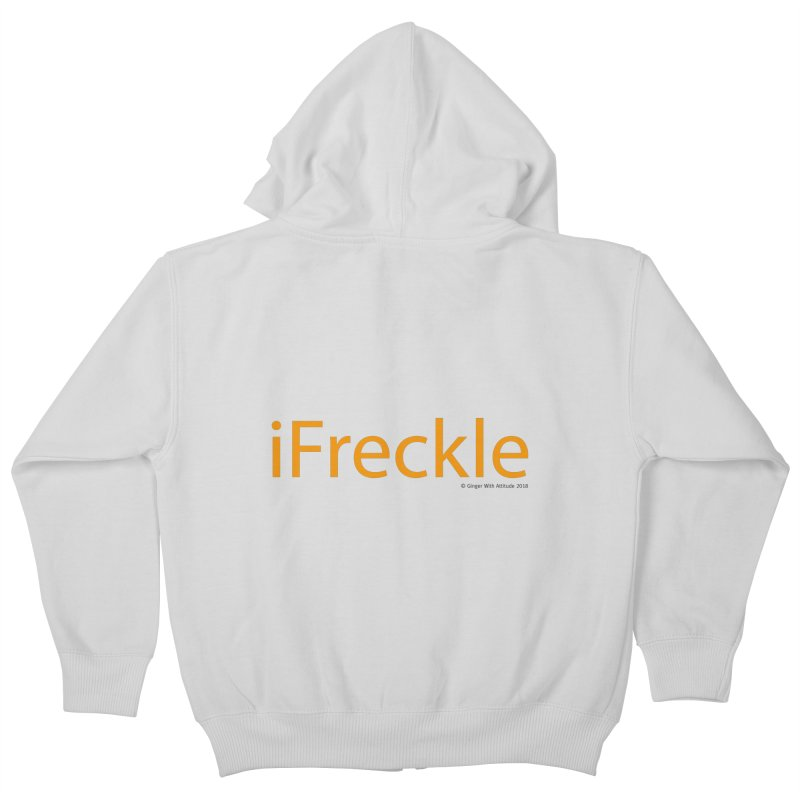 iFreckle Kids Zip-Up Hoody by Ginger With Attitude's Artist Shop