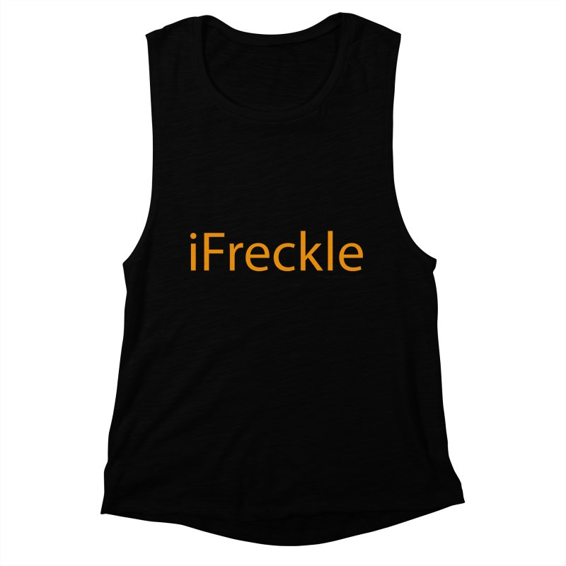 iFreckle Women's Muscle Tank by Ginger With Attitude's Artist Shop