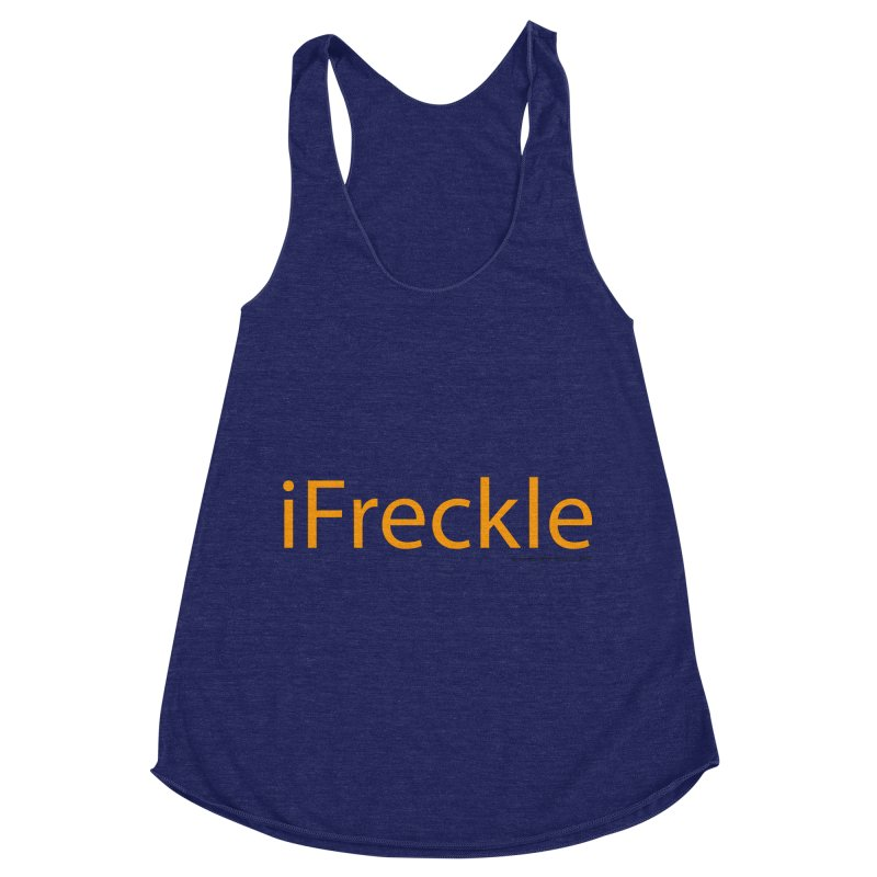 iFreckle Women's Racerback Triblend Tank by Ginger With Attitude's Artist Shop