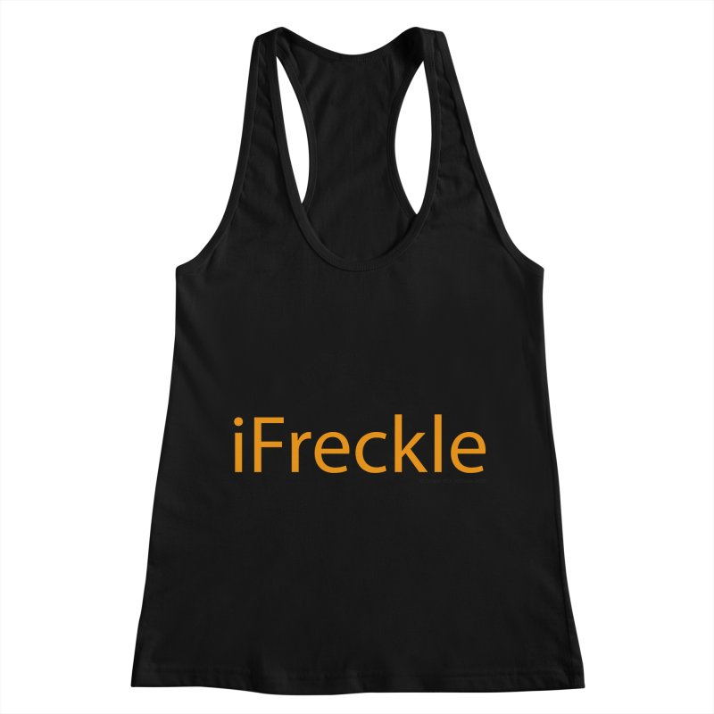 iFreckle Women's Racerback Tank by Ginger With Attitude's Artist Shop