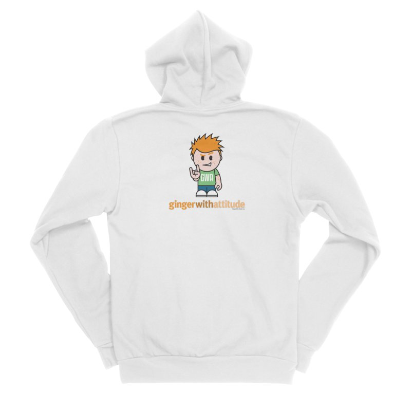Original GWA Men's Zip-Up Hoody by Ginger With Attitude's Artist Shop