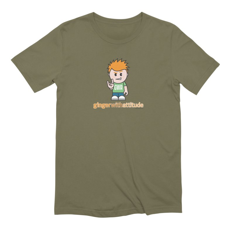 Original GWA Men's Extra Soft T-Shirt by Ginger With Attitude's Artist Shop