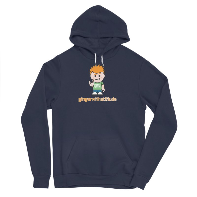 Original GWA Men's Sponge Fleece Pullover Hoody by Ginger With Attitude's Artist Shop