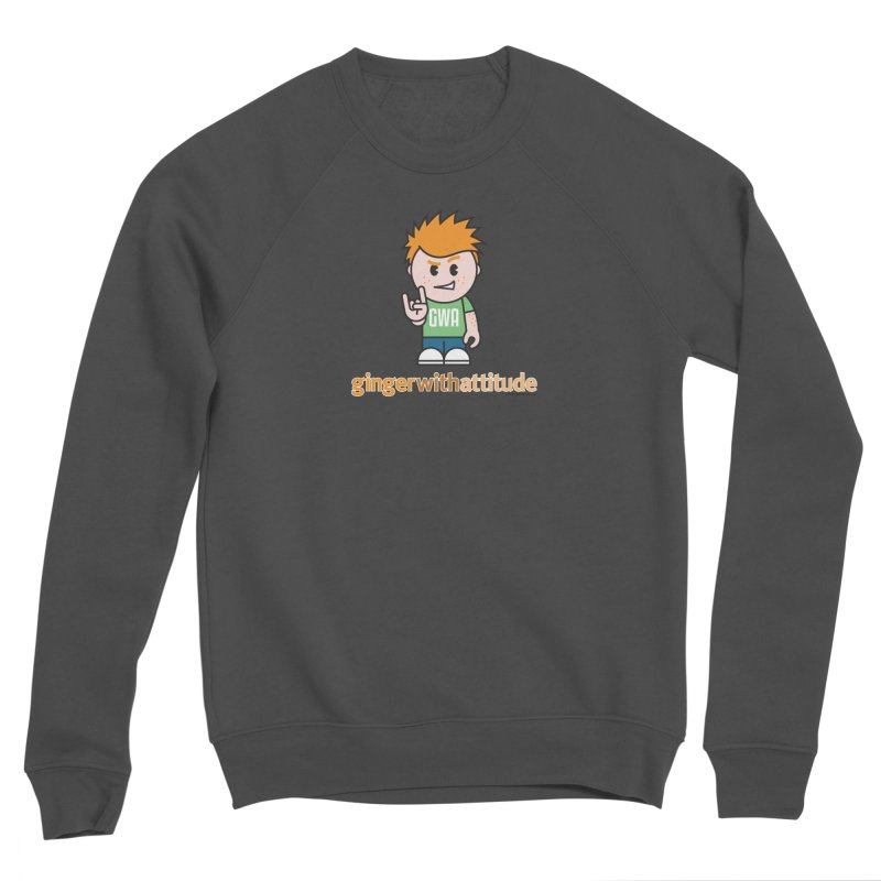 Original GWA Men's Sponge Fleece Sweatshirt by Ginger With Attitude's Artist Shop