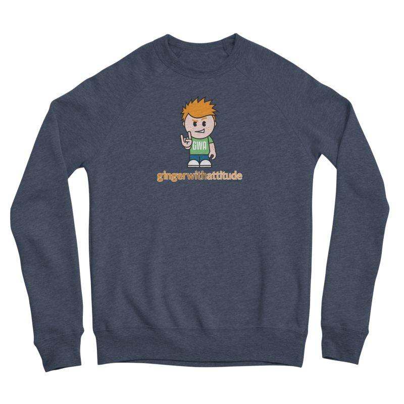 Original GWA Men's Sweatshirt by Ginger With Attitude's Artist Shop