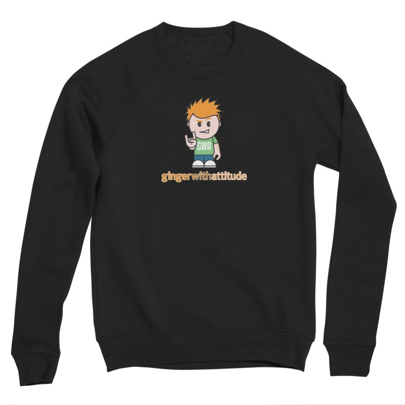 Original GWA Men's Sponge Fleece Sweatshirt by Ginger With Attitude's Artist Shop