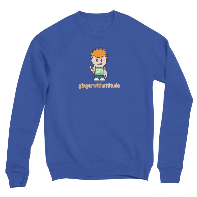 Original GWA Men's Sweatshirt by Ginger With Attitude's Artist Shop