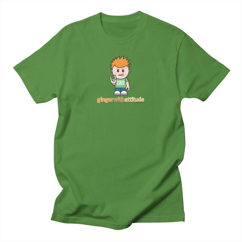 Original GWA Men's T-Shirt by Ginger With Attitude's Artist Shop