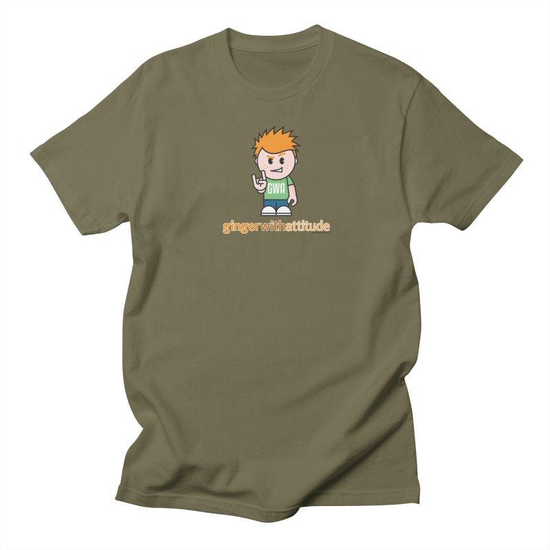 Original GWA Men's Regular T-Shirt by Ginger With Attitude's Artist Shop