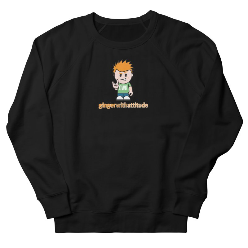 Original GWA Men's French Terry Sweatshirt by Ginger With Attitude's Artist Shop