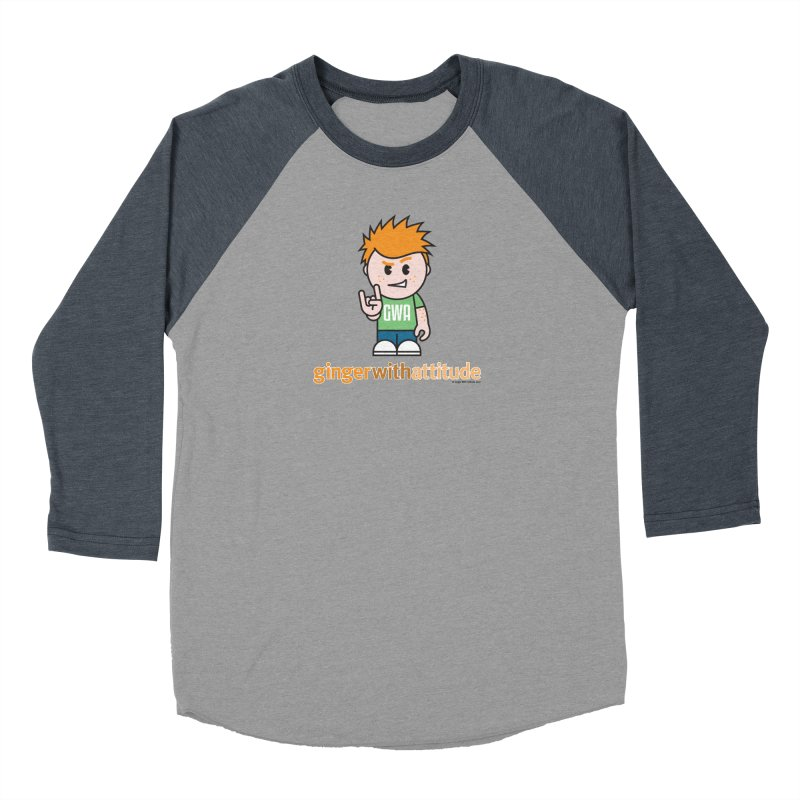 Original GWA Men's Baseball Triblend Longsleeve T-Shirt by Ginger With Attitude's Artist Shop