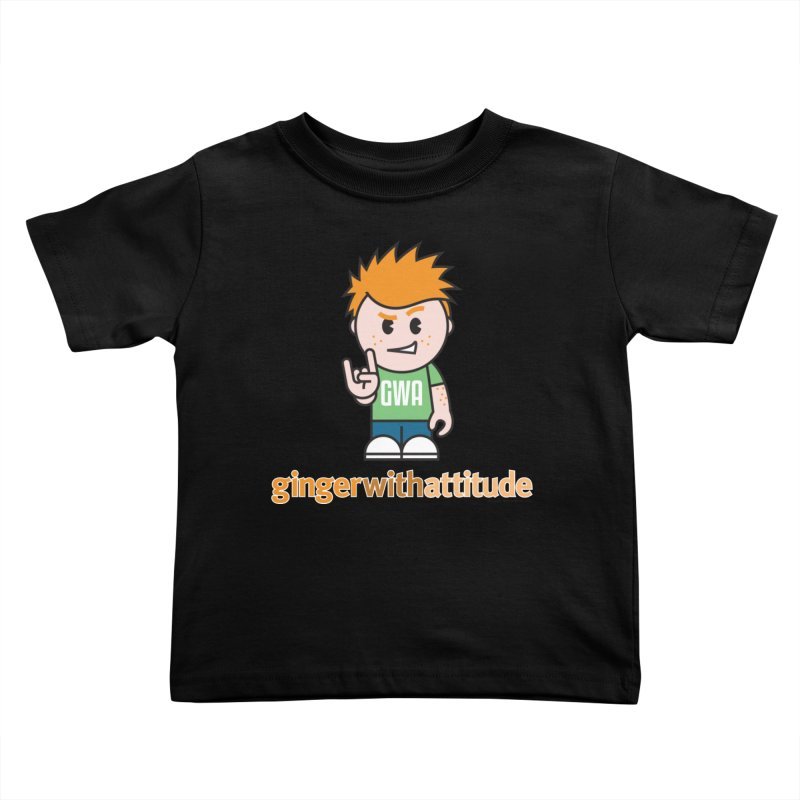 Original GWA Kids Toddler T-Shirt by Ginger With Attitude's Artist Shop