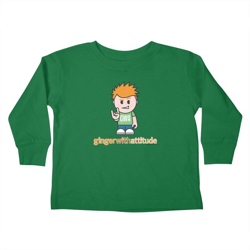 Original GWA Kids Toddler Longsleeve T-Shirt by Ginger With Attitude's Artist Shop