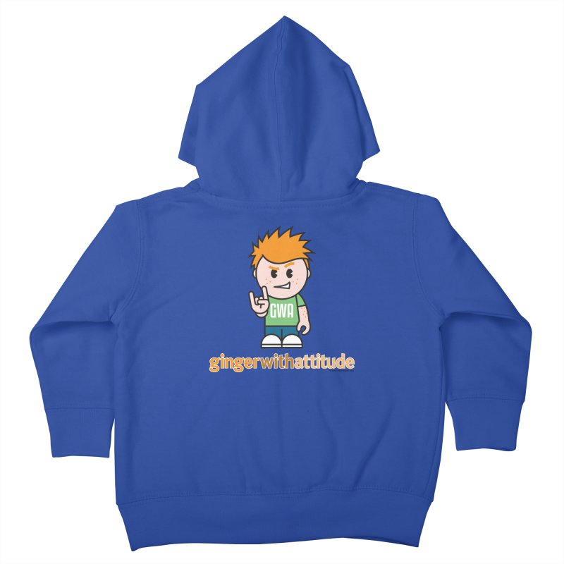 Original GWA Kids Toddler Zip-Up Hoody by Ginger With Attitude's Artist Shop