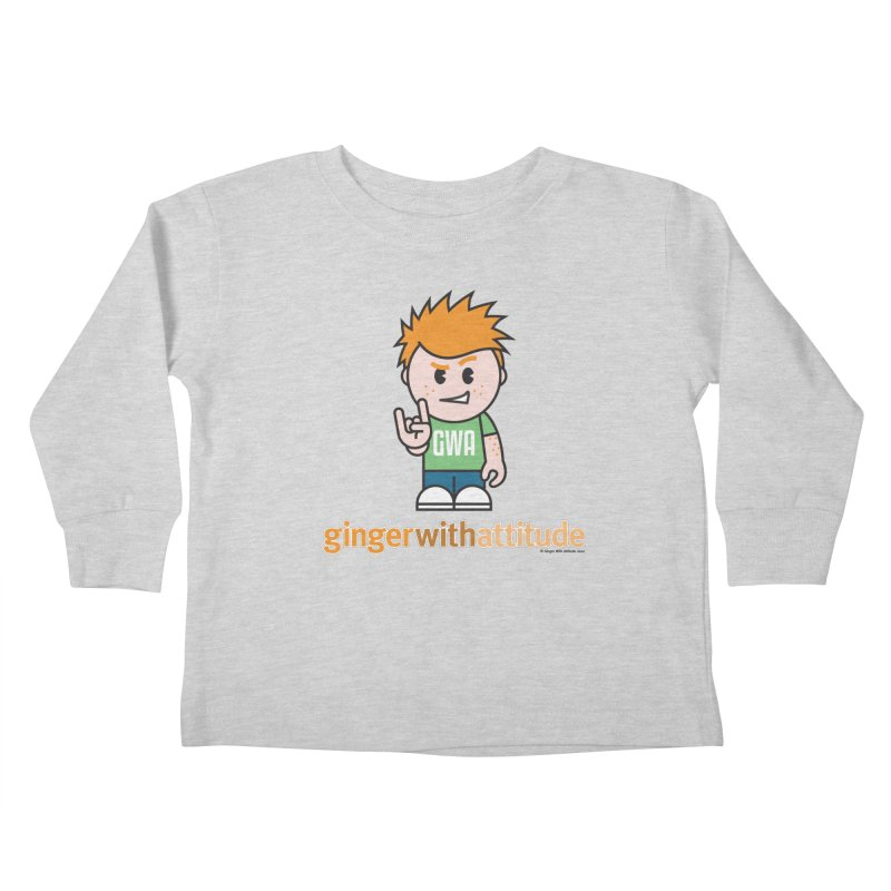 Original GWA Kids Toddler Longsleeve T-Shirt by Ginger With Attitude's Artist Shop