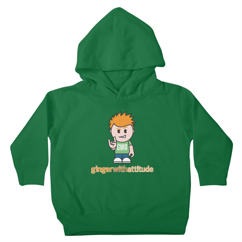 Original GWA Kids Toddler Pullover Hoody by Ginger With Attitude's Artist Shop