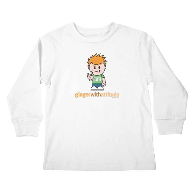 Original GWA Kids Longsleeve T-Shirt by Ginger With Attitude's Artist Shop