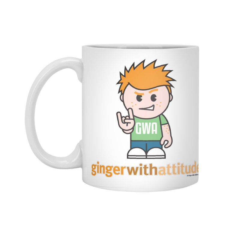 Original GWA Accessories Standard Mug by Ginger With Attitude's Artist Shop