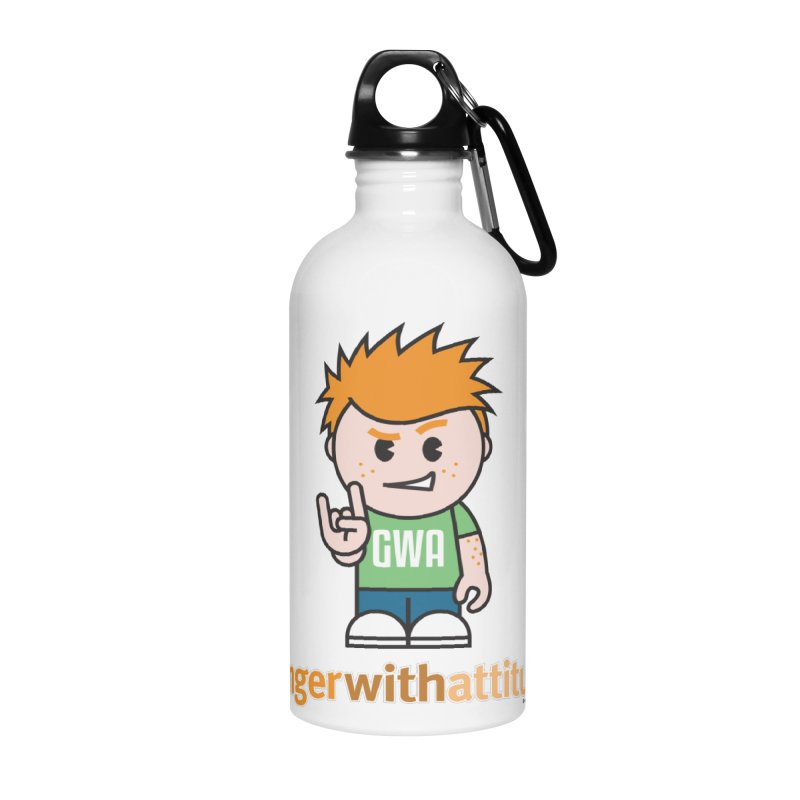 Original GWA Accessories Water Bottle by Ginger With Attitude's Artist Shop