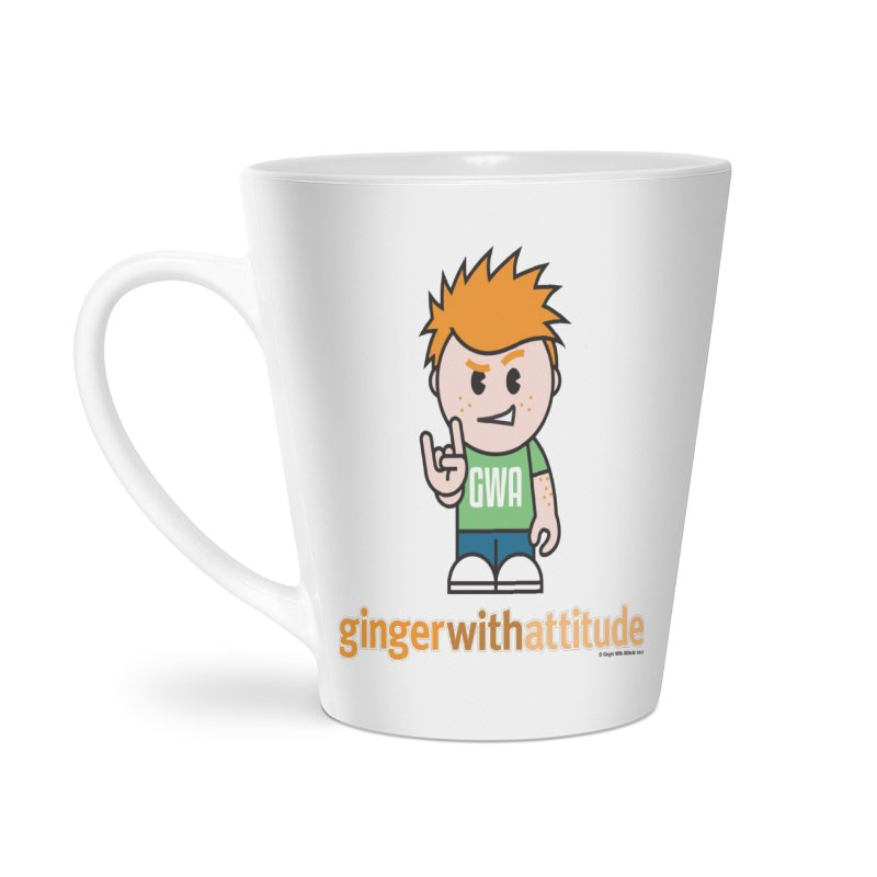 Original GWA Accessories Latte Mug by Ginger With Attitude's Artist Shop