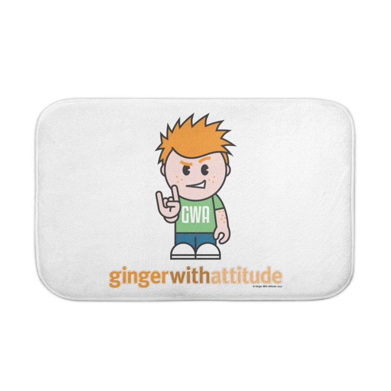 Original GWA Home Bath Mat by Ginger With Attitude's Artist Shop