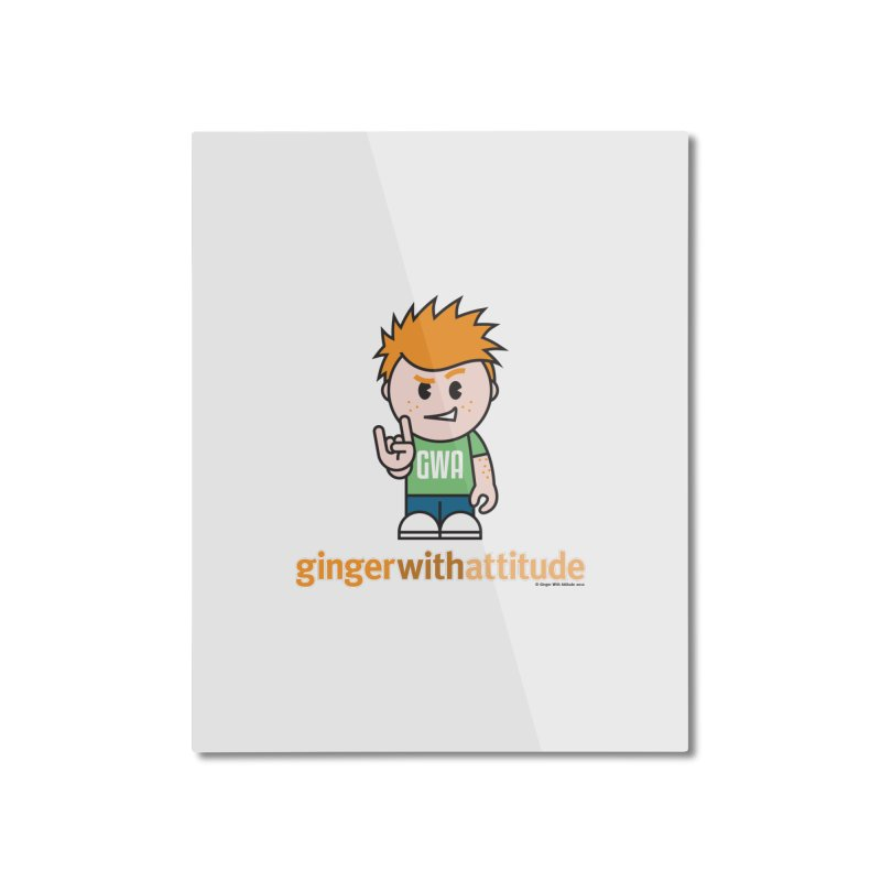 Original GWA Home Mounted Aluminum Print by Ginger With Attitude's Artist Shop