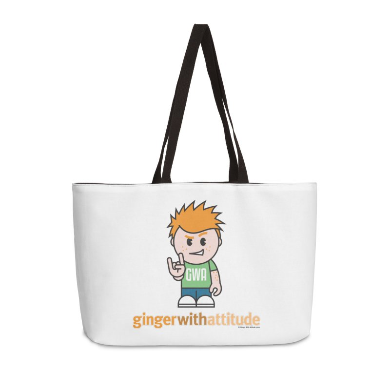 Original GWA Accessories Weekender Bag Bag by Ginger With Attitude's Artist Shop