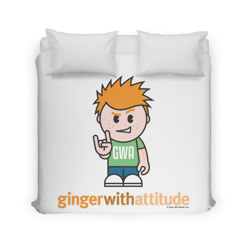 Original GWA Home Duvet by Ginger With Attitude's Artist Shop
