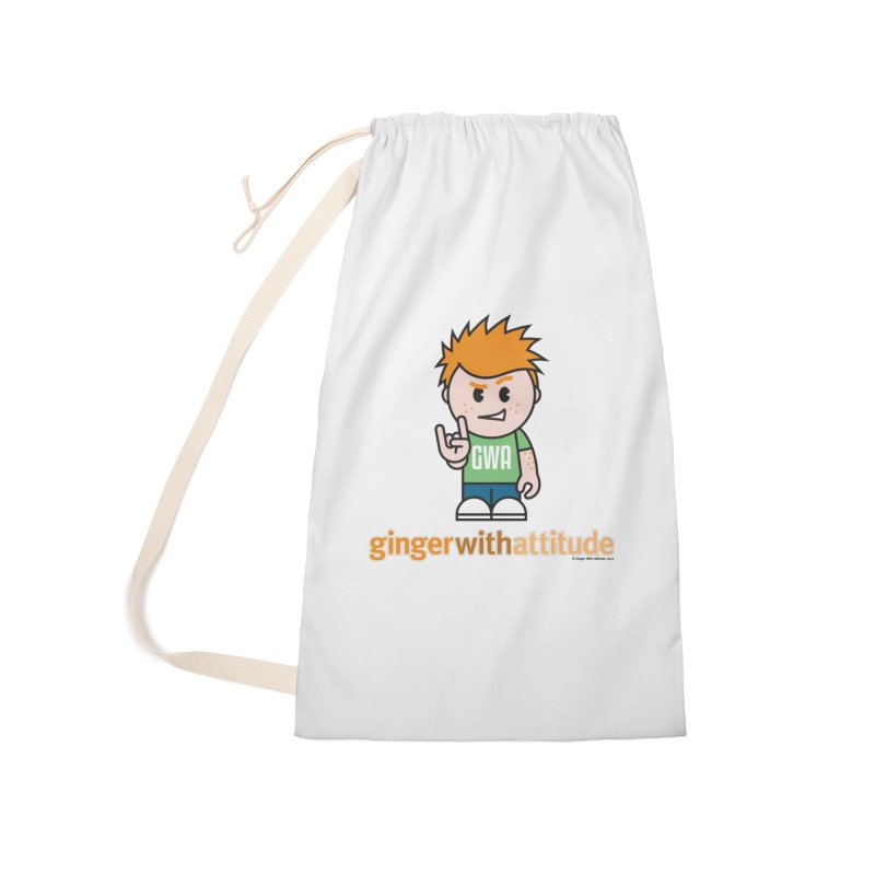 Original GWA Accessories Laundry Bag Bag by Ginger With Attitude's Artist Shop