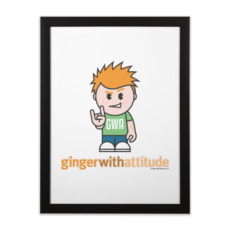 Original GWA Home Framed Fine Art Print by Ginger With Attitude's Artist Shop