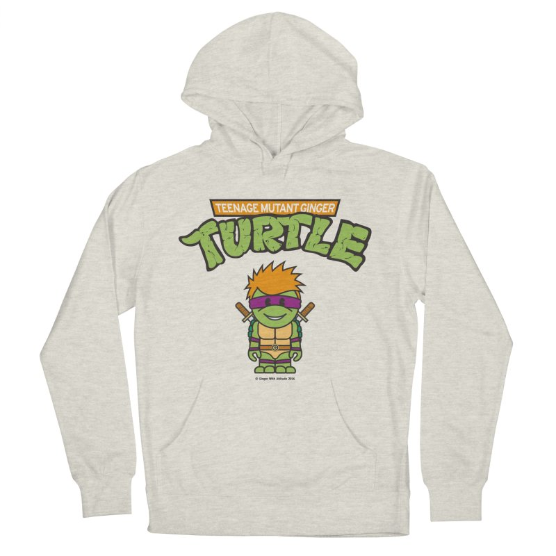 TMGT Women's French Terry Pullover Hoody by Ginger With Attitude's Artist Shop