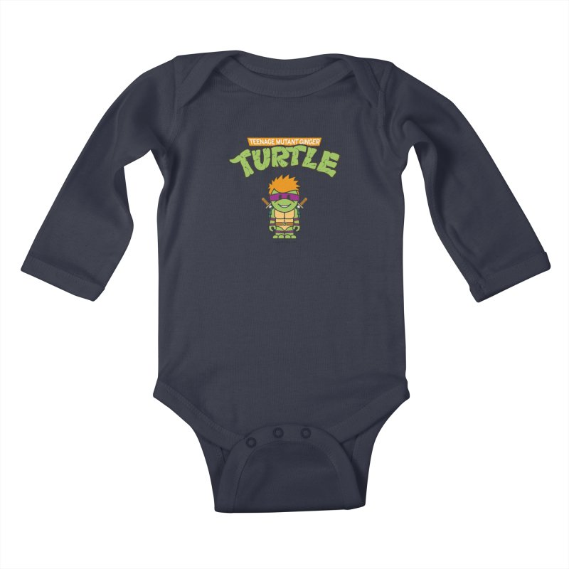 TMGT Kids Baby Longsleeve Bodysuit by Ginger With Attitude's Artist Shop