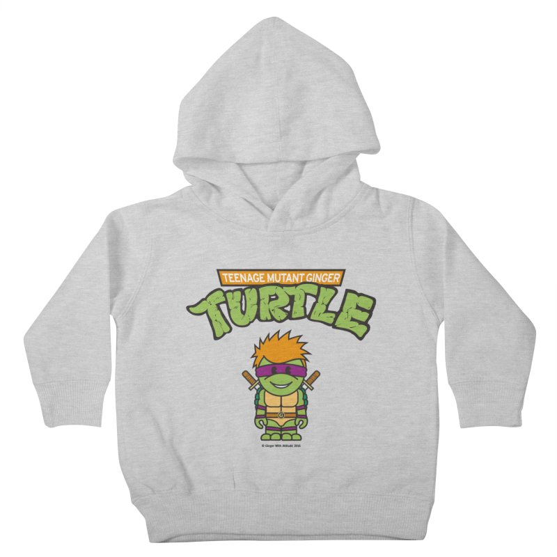 TMGT Kids Toddler Pullover Hoody by Ginger With Attitude's Artist Shop