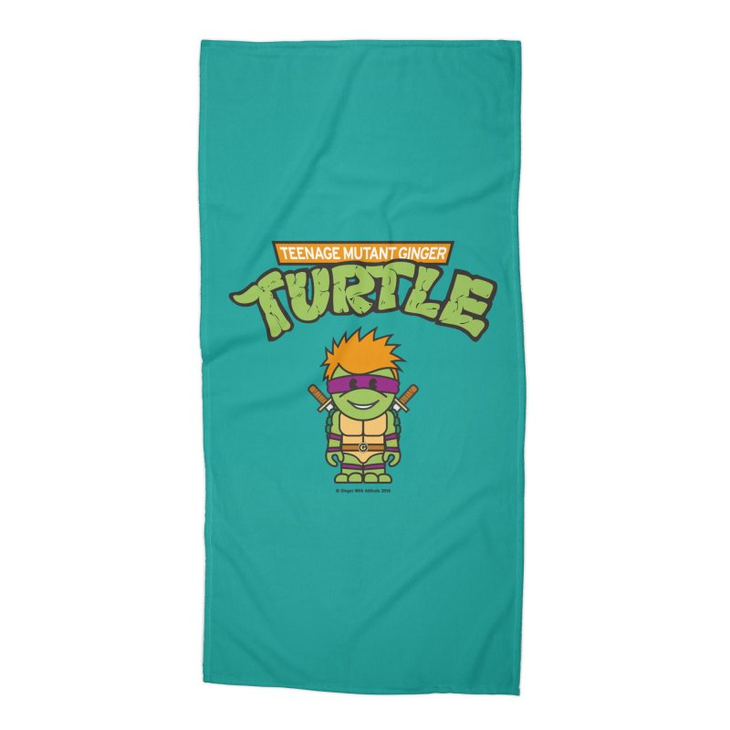 TMGT Accessories Beach Towel by Ginger With Attitude's Artist Shop