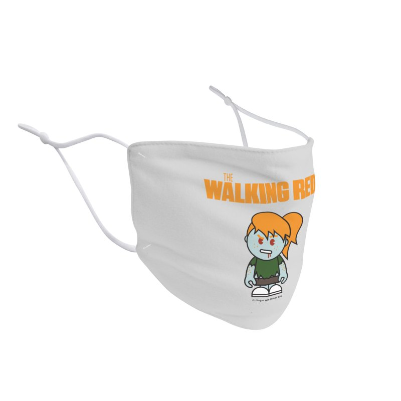 The Walking Red - Girl Accessories Face Mask by Ginger With Attitude's Artist Shop