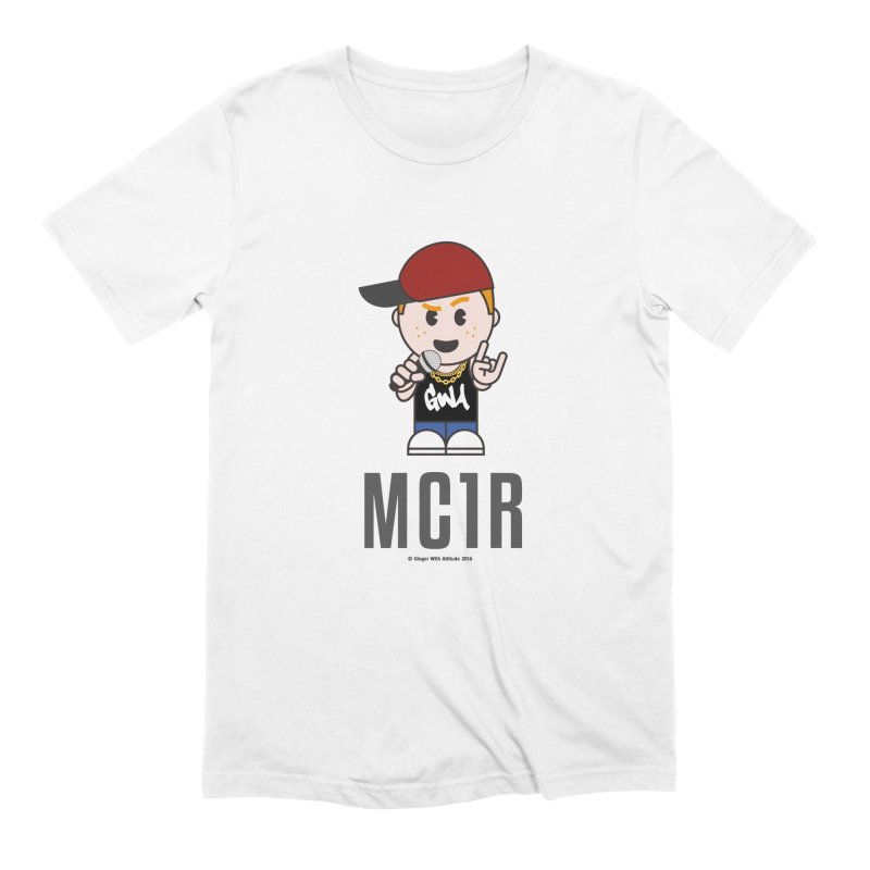 MC1R Men's Extra Soft T-Shirt by Ginger With Attitude's Artist Shop