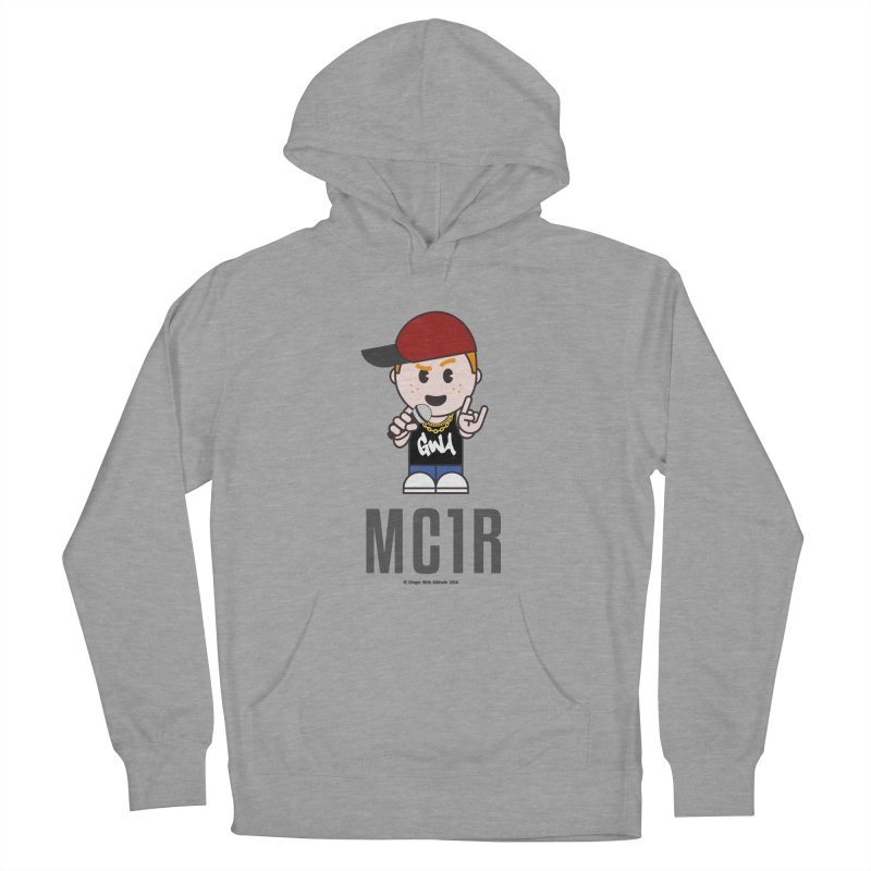 MC1R Women's French Terry Pullover Hoody by Ginger With Attitude's Artist Shop