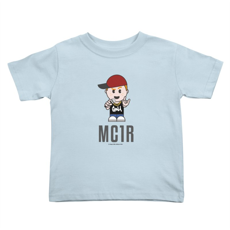 MC1R Kids Toddler T-Shirt by Ginger With Attitude's Artist Shop
