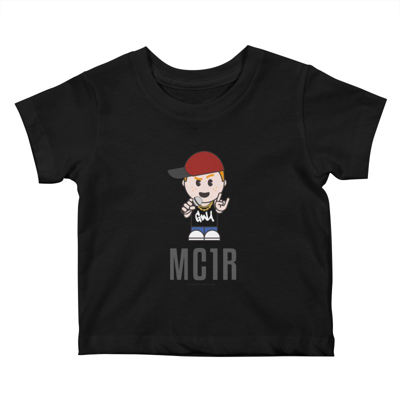 MC1R Kids Baby T-Shirt by Ginger With Attitude's Artist Shop